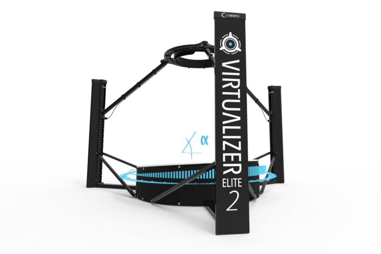 The Cyberith Virtualizer ELITE 2 - pitured without arm
