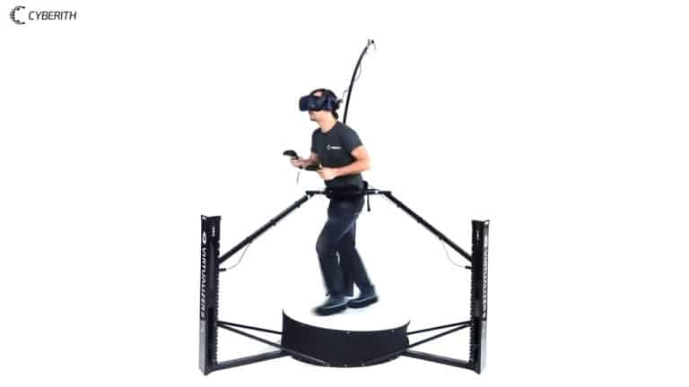 Experienced user demonstrates movement in the Virtualizer