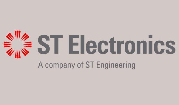 Logo of ST Electronics Singapore