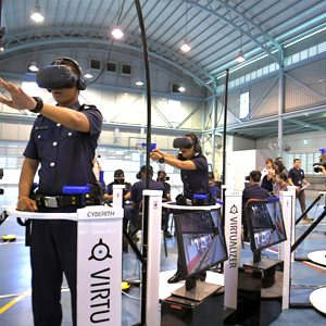 Singapore Police in 4 Virtualizer
