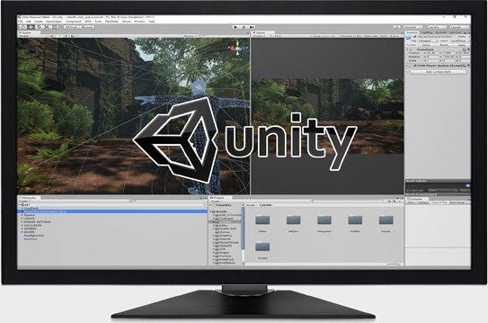 Unity Working Screen