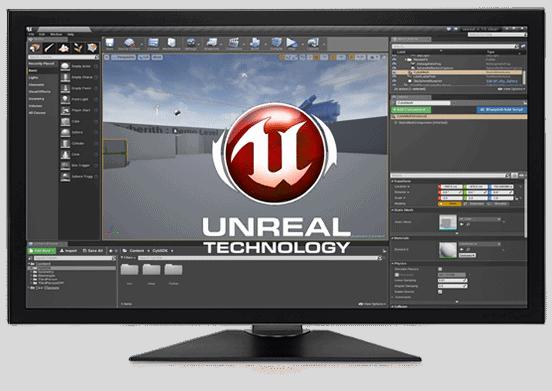 Working Screen Unreal Engine